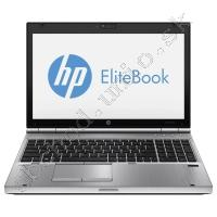 HP EliteBook 8570p; Core i5 3380M 2.9GHz/8GB RAM/120GB SSD/tr. baterky VD