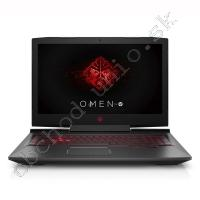 HP OMEN 17-AN004NO; Core i7 7700HQ 2.8GHz/16GB RAM/256GB SSD PCIe + 1TB HDD/HP Remarketed