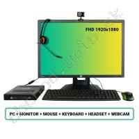 SET HP EliteDesk 800 G2 DM; Core i5 6500 3.2GHz/8GB RAM/256GB SSD/Intel HD/W10PRO