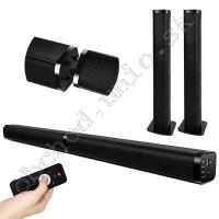2.0 Channel Convertible Soundbar 40W; Bluetooth/AUX/USB